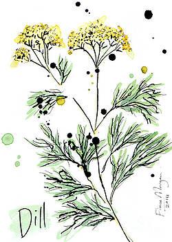 Culinary Herbs - Dill by Fiona Morgan