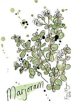 Culinary Herbs - Marjoram by Fiona Morgan