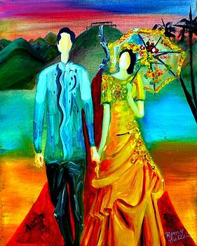 Cultural Impressions 1 by Romy Galicia