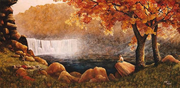 Cumberland Falls by Duane R Probus