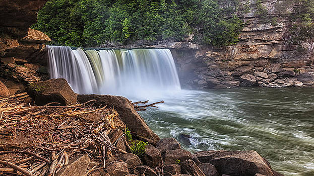 Cumberland Falls by Fareed Khan