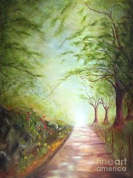 Cumbrian Road by Kathy Lynn Goldbach