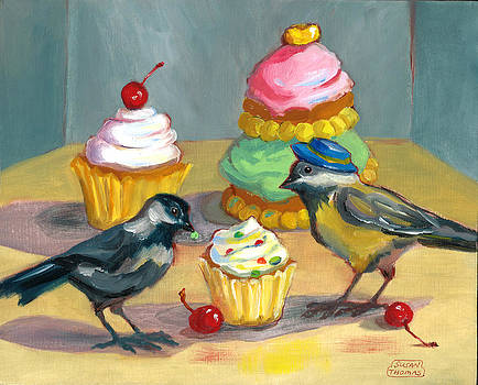 Cupcakes and Chickadees by Susan Thomas