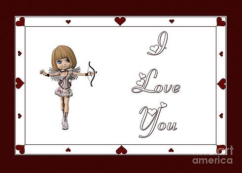 JH Designs - Cupid Fairy I Love You