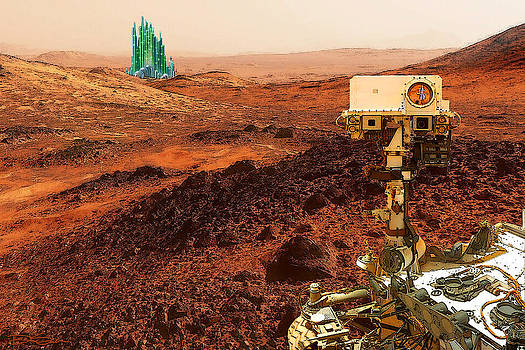 Curiosity Discovers Life on Mars by Ric Soulen