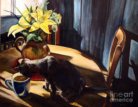 Curious Kitten by Valerie  Bruzzi
