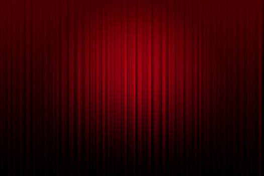 Curtain red  background by Somkiet Chanumporn
