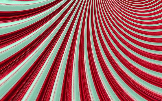 Curvaceous Red by Eleni Michael