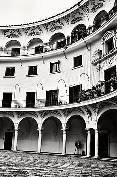Angela Bonilla - Curved Seville Spain Courtyard