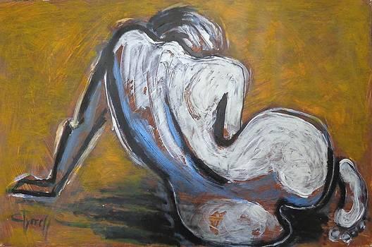Curves 24 - Nudes by Carmen Tyrrell