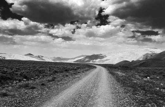 Curving Road into the Mountains by Eric Benjamin