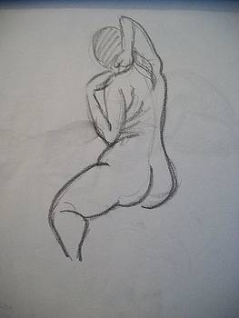 Curvy Nude by Mary Clare Castor