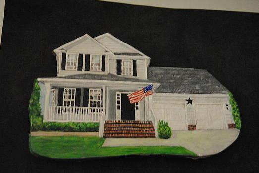Custom House Painting by Sandra Oropeza