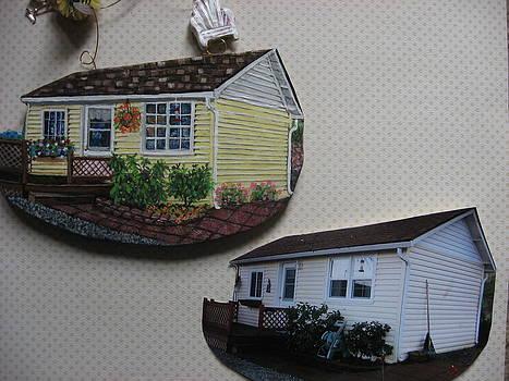 Custom House Paintings or Ornaments by Sandra Oropeza