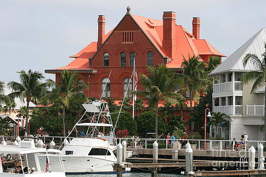 Customs House in Key West by Kathy DesJardins