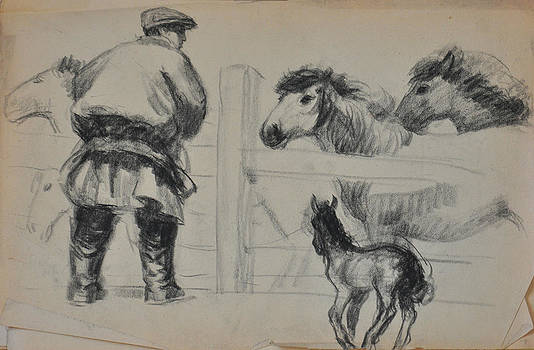 Cut the Horsehair  by Ji-qun Chen