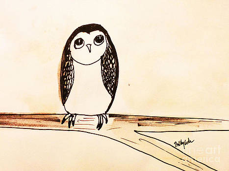Cute Hootie by Trilby Cole