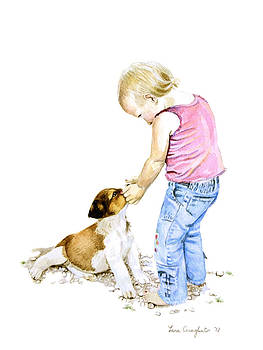 Cute Little Baby by Lena Quagliato