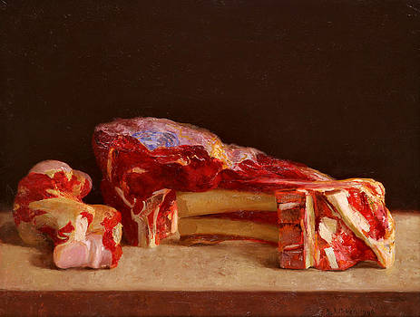 Cutlet and bone by Ben Rikken