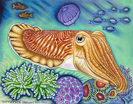 Cuttlefish by Taryn  Libby