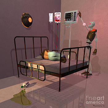 Walter Oliver Neal - Cybercare In 2092 - Night Shift