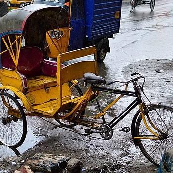 Cycle Rickshaws Rule The Streets Of Old by Srivatsa Ray