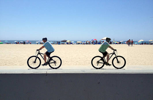 Cycling Backwards by Darren  Graves