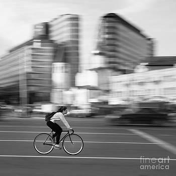 Cyclist by Maurizio Bacciarini