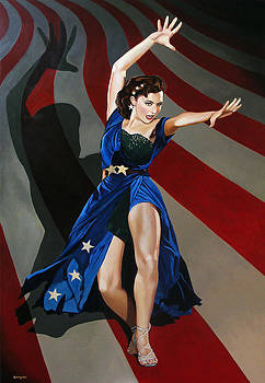 Cyd Charisse - Aunt Sam by Jo King