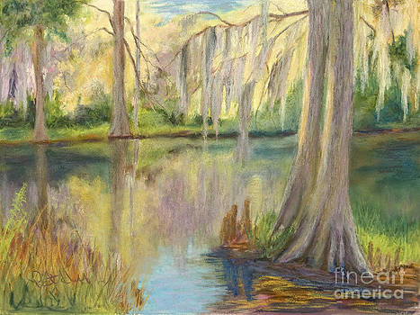 Cypress Reflections by Patricia Huff