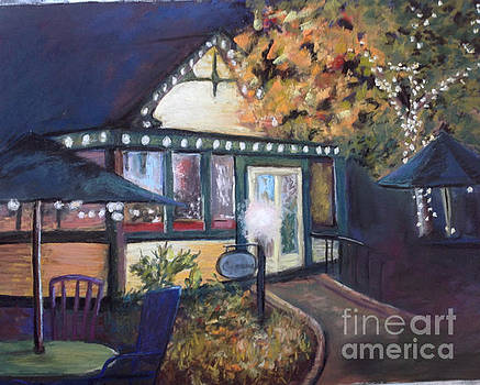 Cyprus Cafe by Rosemary Juskevich