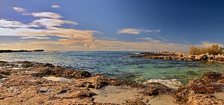 Cyprus Coast by Steven Liveoak