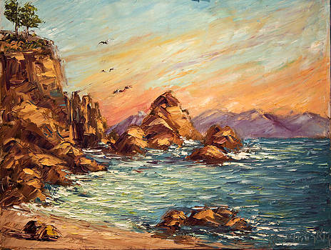 michaelalonzo   kominsky - Cyprus Point Monterey Paint Along with Nancy PBS
