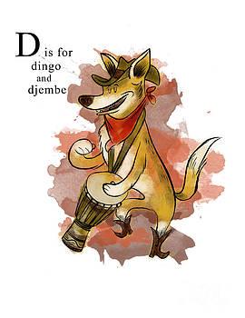 D is for Dingo by Sean Hagan