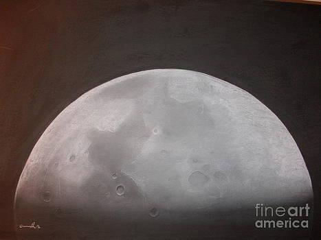 da Moon by Adrian Pickett