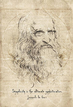 Da Vinci Quote by Zapista Zapista