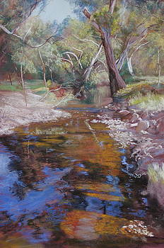Dabyminga Creek - Tallarook by Lynda Robinson