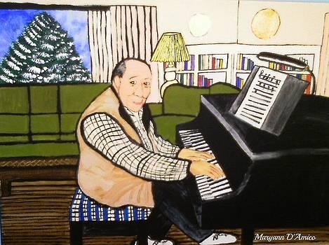 Maryann  DAmico - Dad Playing Piano