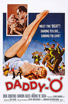 Daddy-o, Us Poster Art, 1959 by Everett