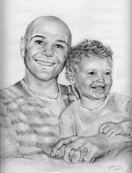 Daddy's boy by Gill Kaye