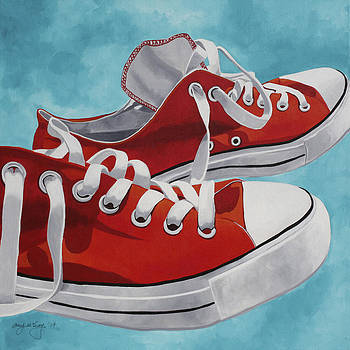 Dad's Chuck Taylors by Amy McKay