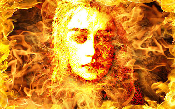 Daenerys Targaryen Bride of Fire Mother of Dragons by The DigArtisT