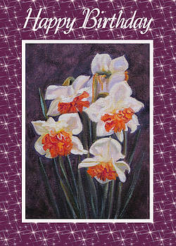 Ruth Soller - Daffodil Replete card