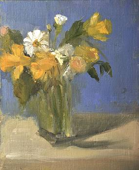 Daffodils And Daisies  by Joyce Colburn