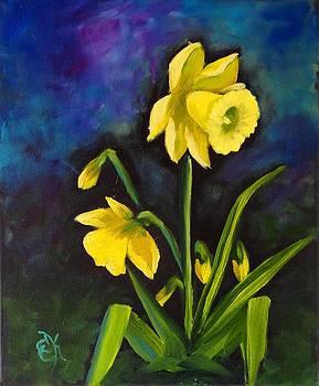 Daffodils by Fineartist Ellen