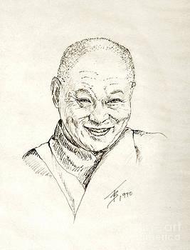 Art By - Ti   Tolpo Bader - Dahlai Lama