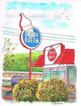 Dairy Queen in Route 66, Williams, Arizona by Carlos G Groppa