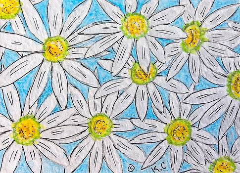 Daisies Daisies by Kathy Marrs Chandler