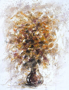 Daisies in a Vase by Rachel Christine Nowicki