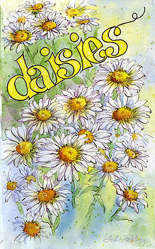 Daisies by Leslie Fehling